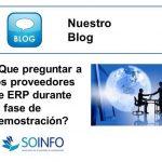 Preguntas que debes hacer a los proveedores de ERP durante la fase de demostración